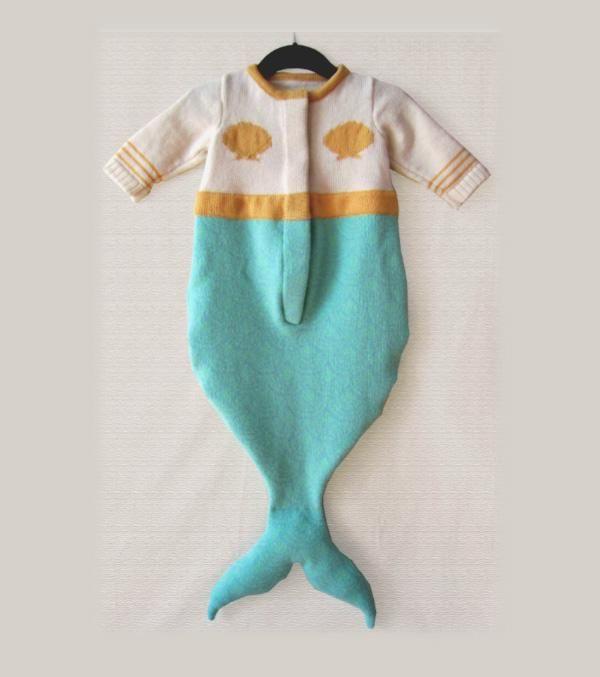 a baby mermaid