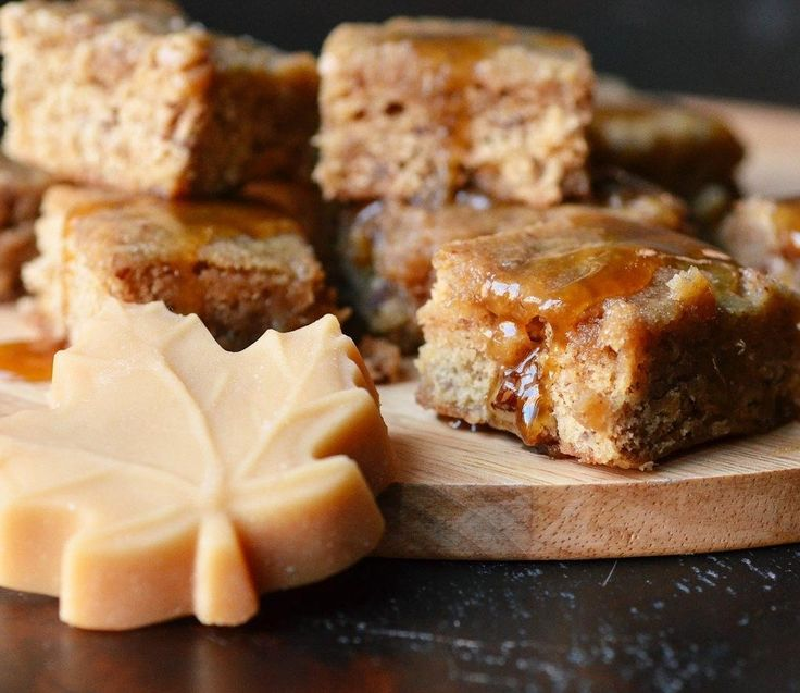 Quick Recipe: Maple Pecan Blondies with Maple Butter Glaze — Recipes ...