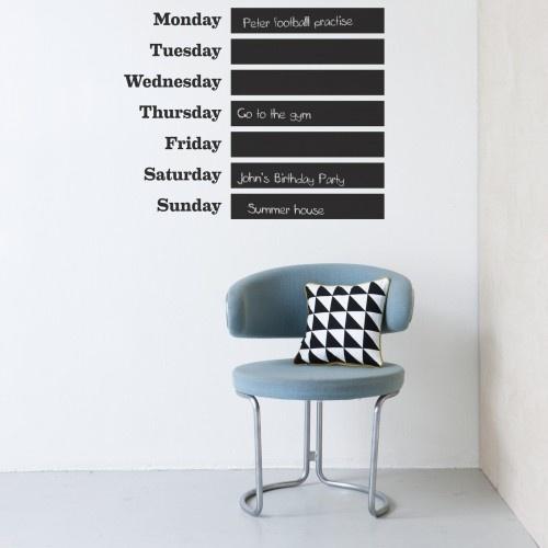ferm living blackboard wall sticker