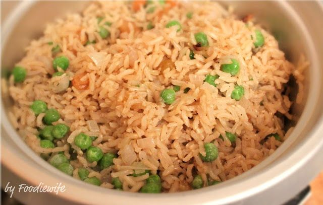 Indian Style Rice | in the kitchen | Pinterest