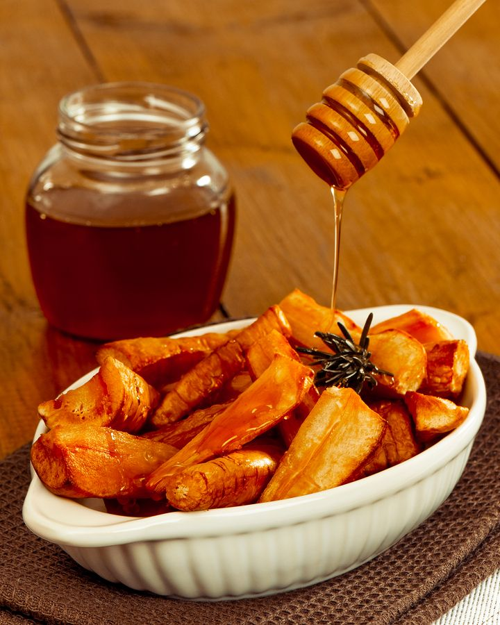 Honey Roasted Parsnips | Forks over Knives | Pinterest