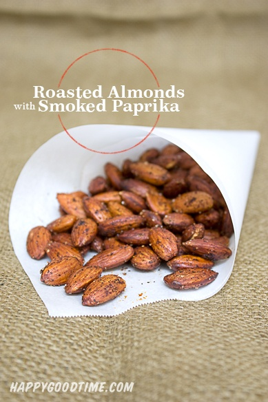 Smoked Paprika Roasted Almonds | Recipes | Pinterest