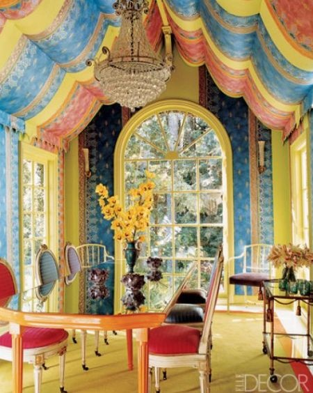 Interior designer tricia guild fabrics and wall coverings are