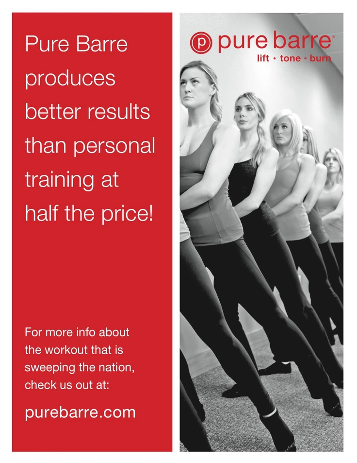 See better results with Pure Barre