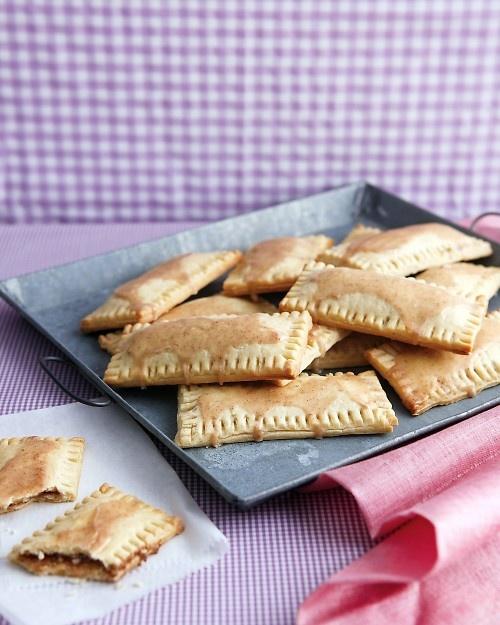 Cinnamon-Sugar Pastry Pockets - Martha Stewart Recipes I might just ...