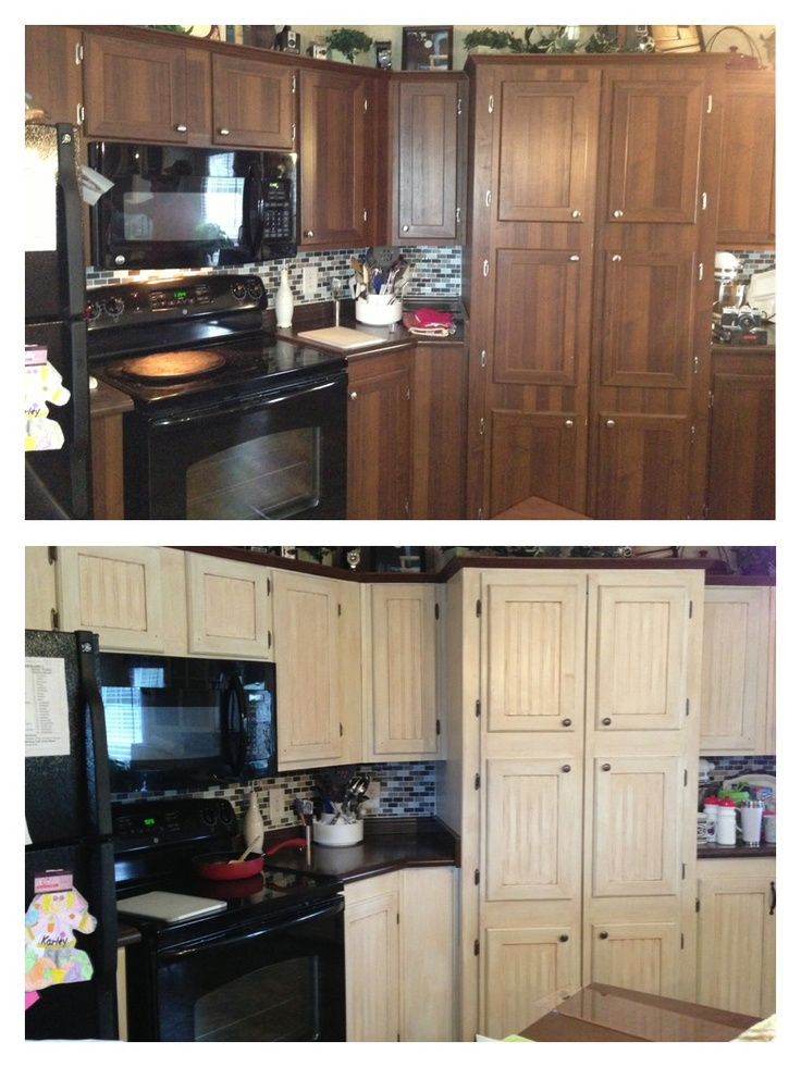 Kitchen cabinet makeover backsplash pinterest for Kitchen cabinets makeover