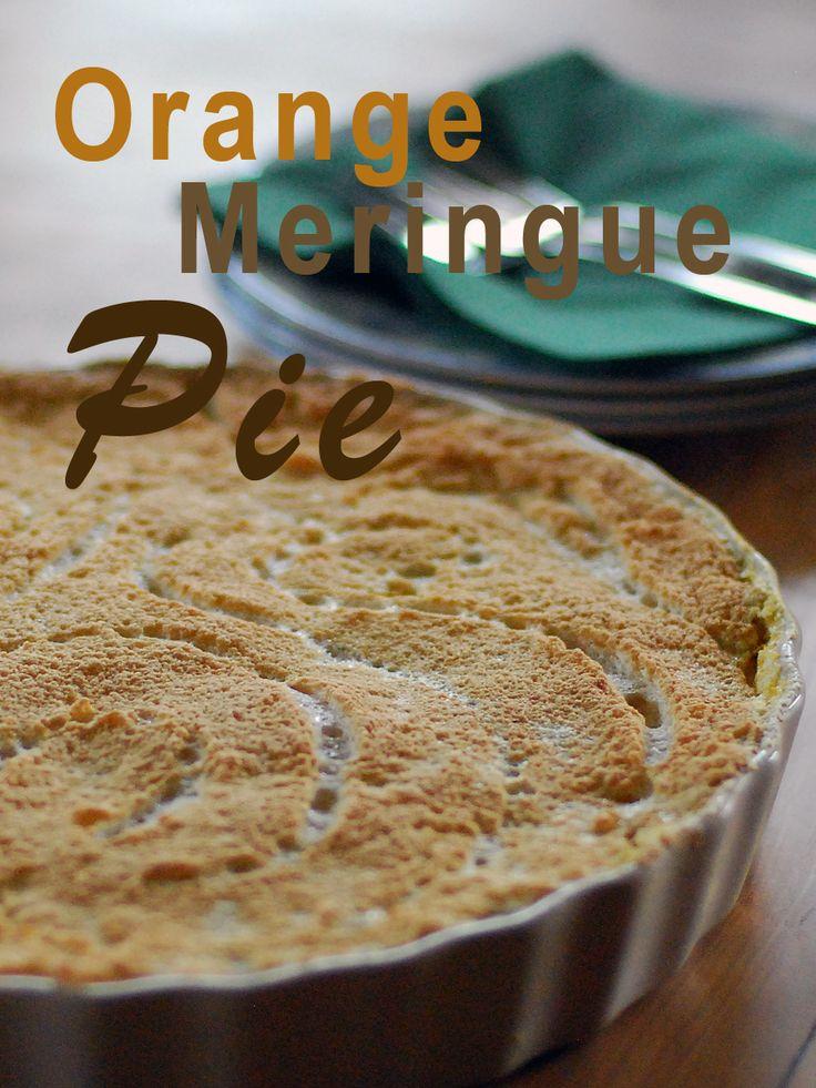 Orange-Meringue-Pie #ichbacksmir | cakes, sweets and ice cream | Pint ...