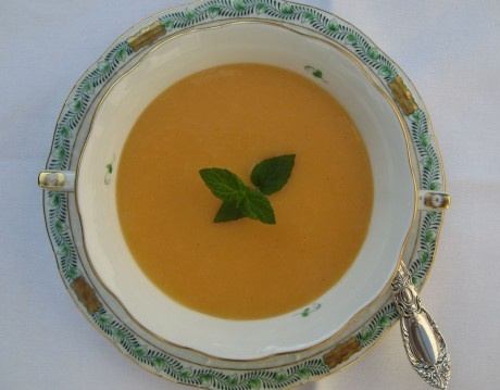 CHILLED PEACH SOUP   SOUPs /// Stews & Chili   Pinterest