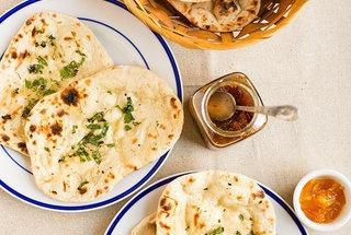 Homemade naan with malai kofta | Comida | Pinterest