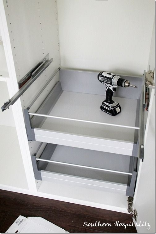 Adding shelves to ikea cabinets kitchen ideas pinterest for Add drawers to kitchen cabinets