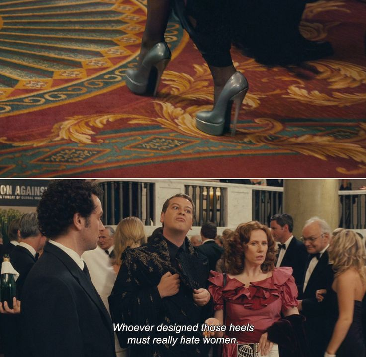 Love and Other Disasters (2006)  Tallulah: Whoever designed those heels must really hate women.