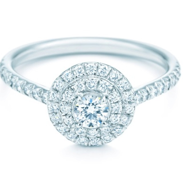 tiffany soleste round ring engagement amp promise rings