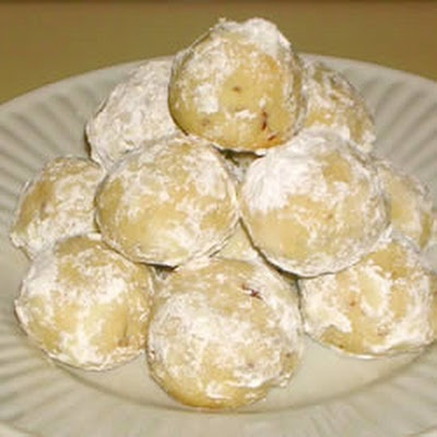SNOWBALL COOKIES I havnt had these in forever I want someone to make ...