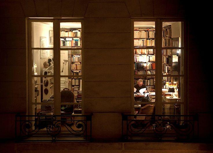 Paris Apartment At Night Interior Pinterest