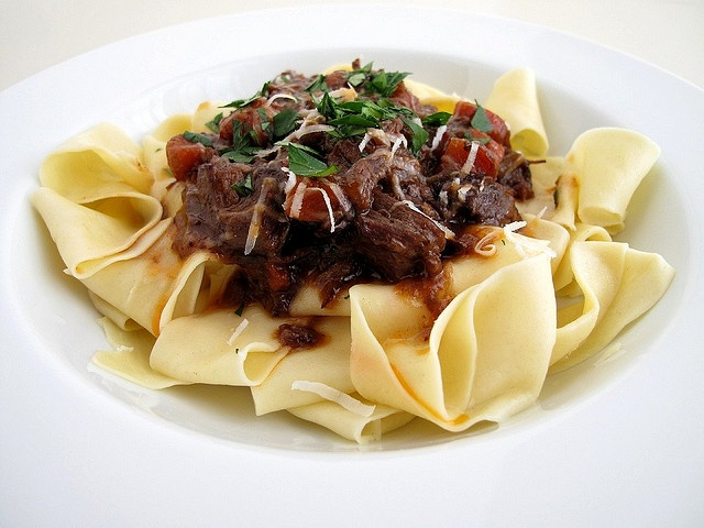 short rib ragu with pappardelle by The Gastronomer, via Flickr