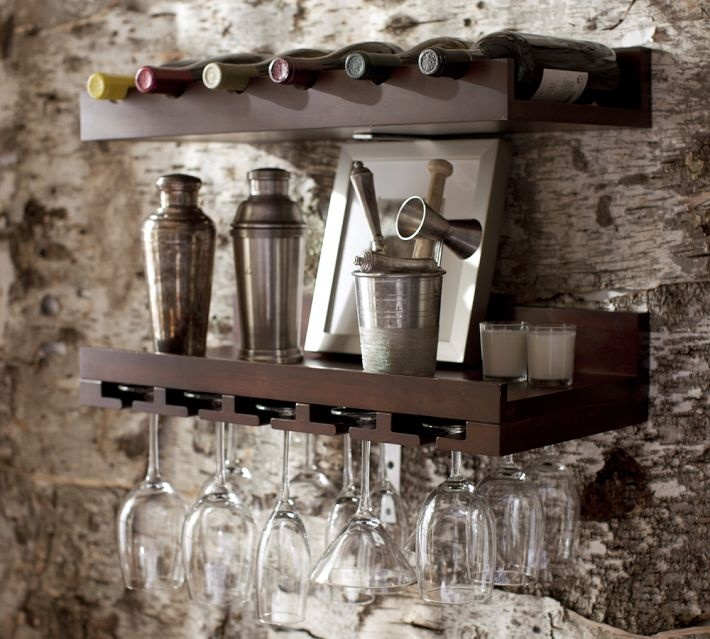 pottery barn wine rack our home pinterest