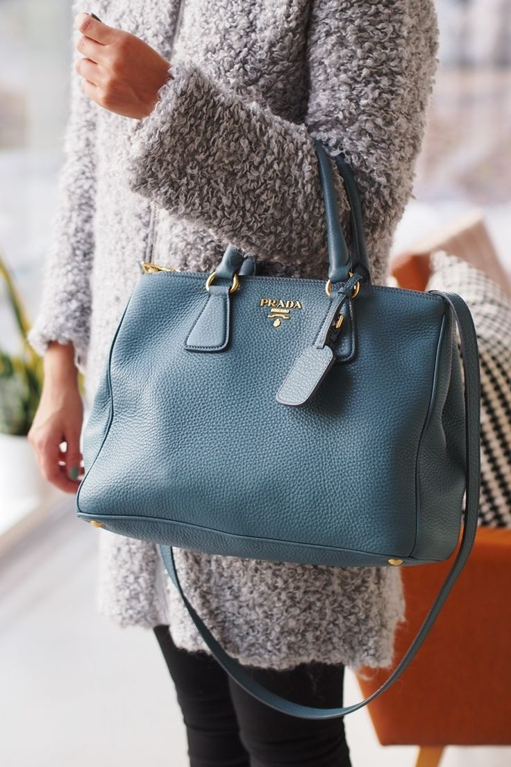 Fluffy coat & Prada bag. Coco Sweet Dreams | Lily.fi