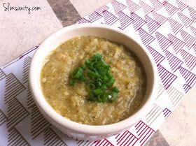 Slim Sanity: WIAW #34: crockpot broccoli & potato soup