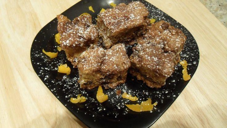 SOUR CREAM – ORANGE COFFEE CAKE WITH CHOCOLATE STREUSEL FOR R'OCK ...