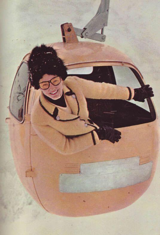 60's skiwear fashion