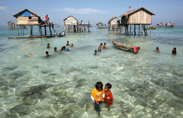 Bajau Laut people of the south-western Philippines and Indonesia