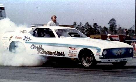 70s Funny Cars - Chris Karamesines