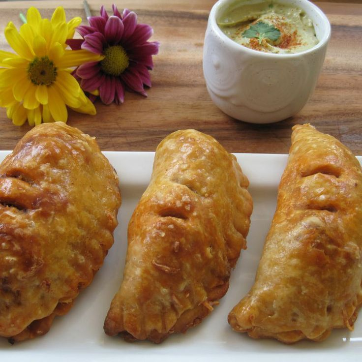 cilantro cream recipes dishmaps spicy empanadas with cilantro cream ...