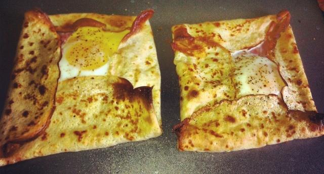 Ham and Egg Crepe Squares | Recipe