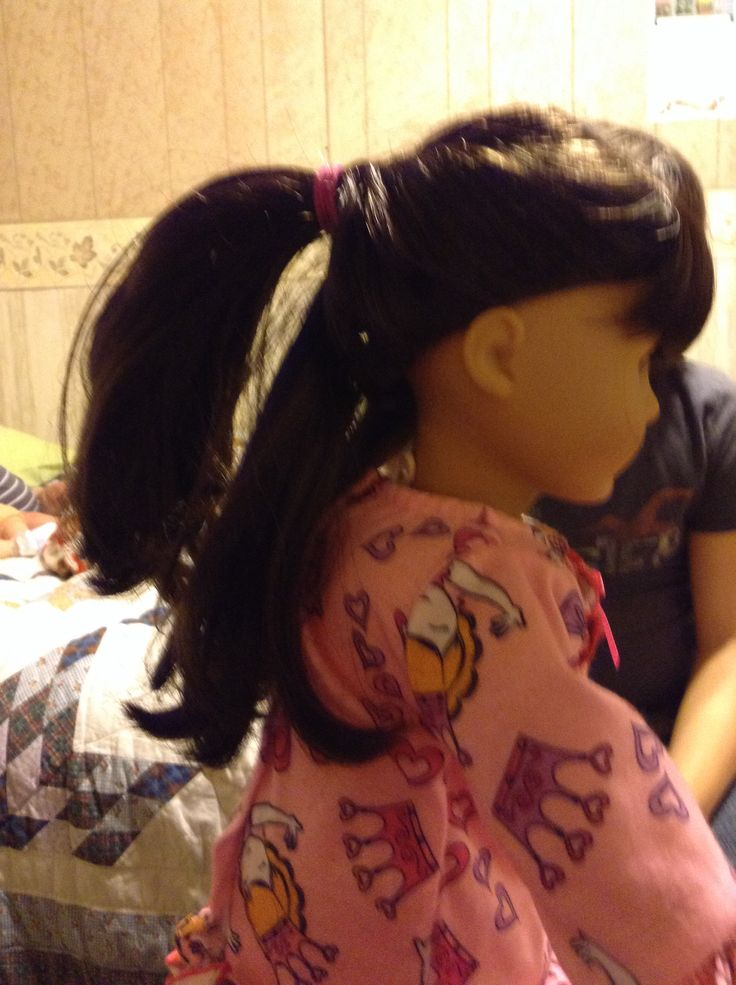 Easy hair styles for American girl dolls | Easy doll hairstyles