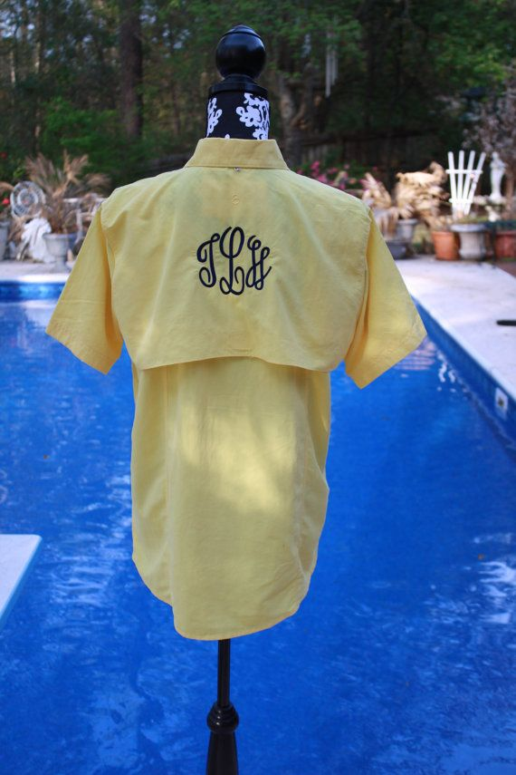 Pinterest discover and save creative ideas for Monogrammed fishing shirts