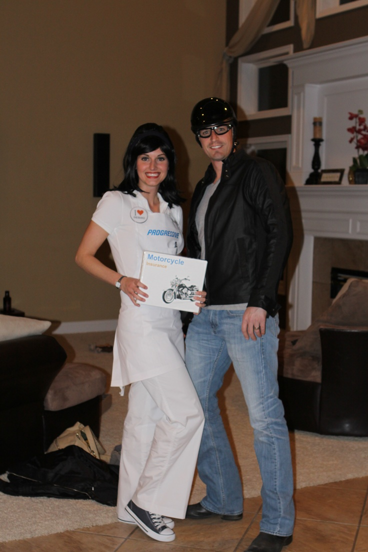 Couple's halloween costume