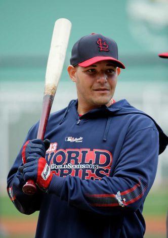 yadier molina batting  ... . Louis Cardinals'