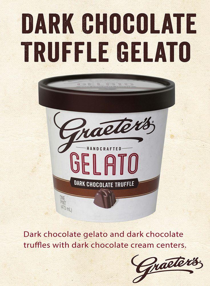 chocolate lovers, featuring dark chocolate gelato and dark chocolate ...