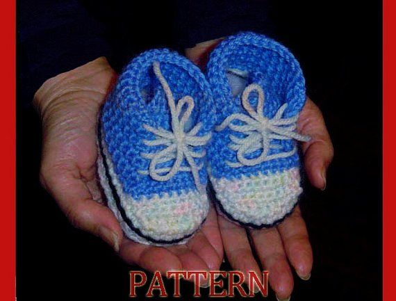 Free Crochet Pattern For Baby High Tops : Pin by Brenda Ruckel on Crochet Pinterest