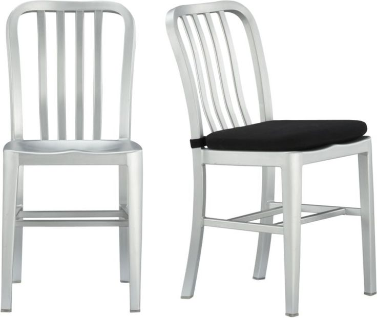 Delta Side Chair and Cushion  | Crate and Barrel