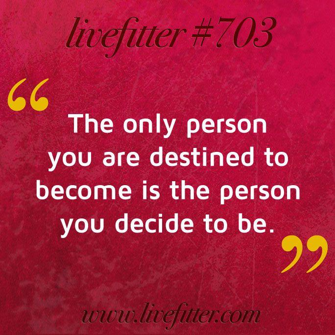 Destiny Is A Decision #destiny