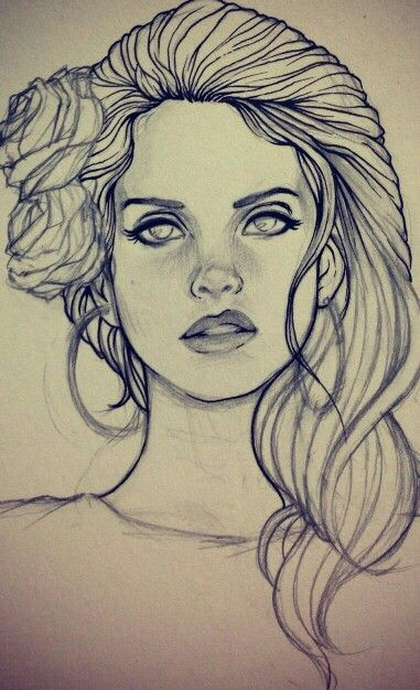 Easy Lana Del Rey Drawing