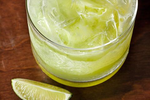 Cucumber Margarita: tequila, agave nectar, lime juice, yellow ...