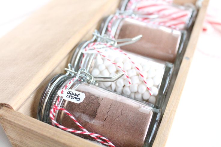 Hot chocolate gift set idea gift ideas diy craft for Christmas place setting gift ideas