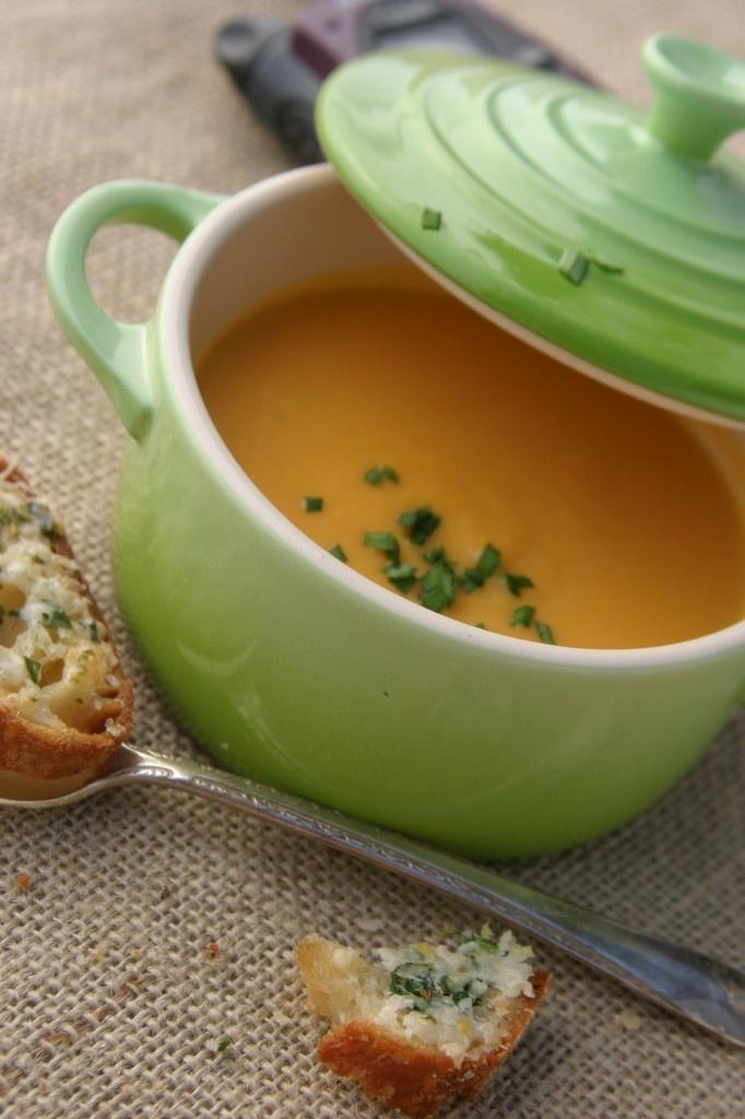 Butternut Squash and Leek Soup   Yummy Yummy!   Pinterest