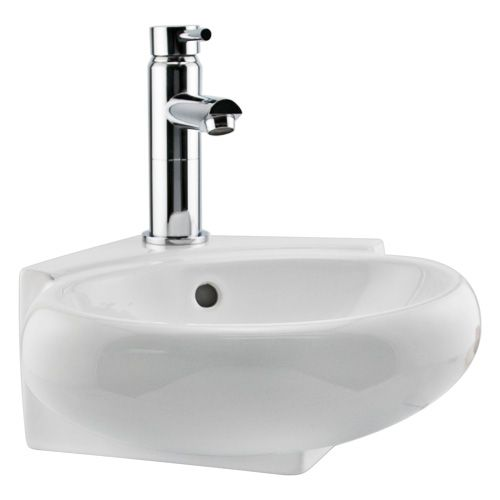 Corner Wall Hung Sink : Oscar Wall Hung Corner Sink For the Home Pinterest