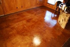 acid etched concrete is very affordable and done well pretty dramatic