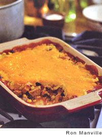 Turkey and Black Bean Tamale Pie | Recipe