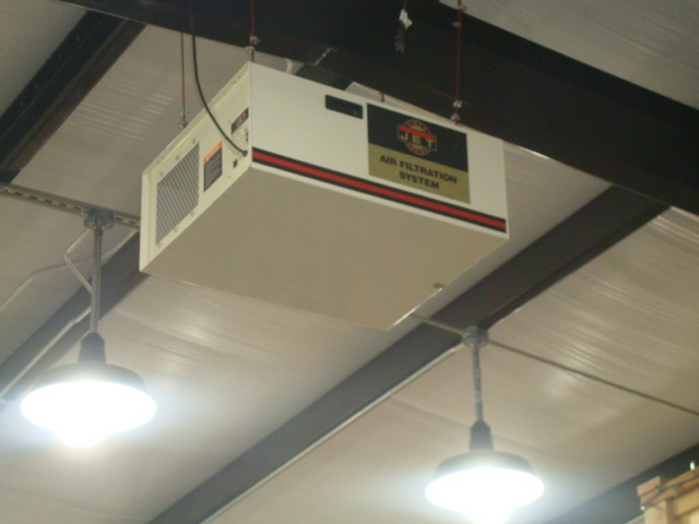 Dust Collector Ceiling Mounted Garages Pinterest