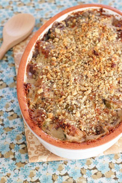 Brussels Sprouts Goat Cheese Gratin by Cinnamon Spice and Everything ...