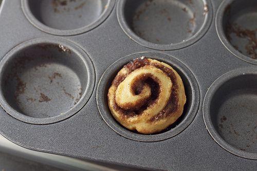Sticky Pecan Bites or Mini Cinnamon Rolls