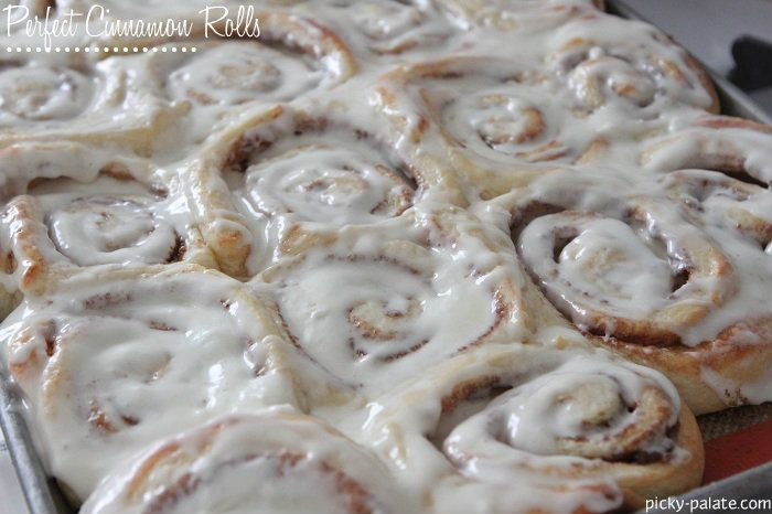 Perfect Cinnamon Rolls from @Jenny Flake, Picky Palate