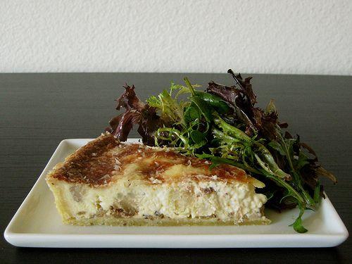 Roasted Cauliflower and Caramelized Onion Tart - A Sage Amalgam