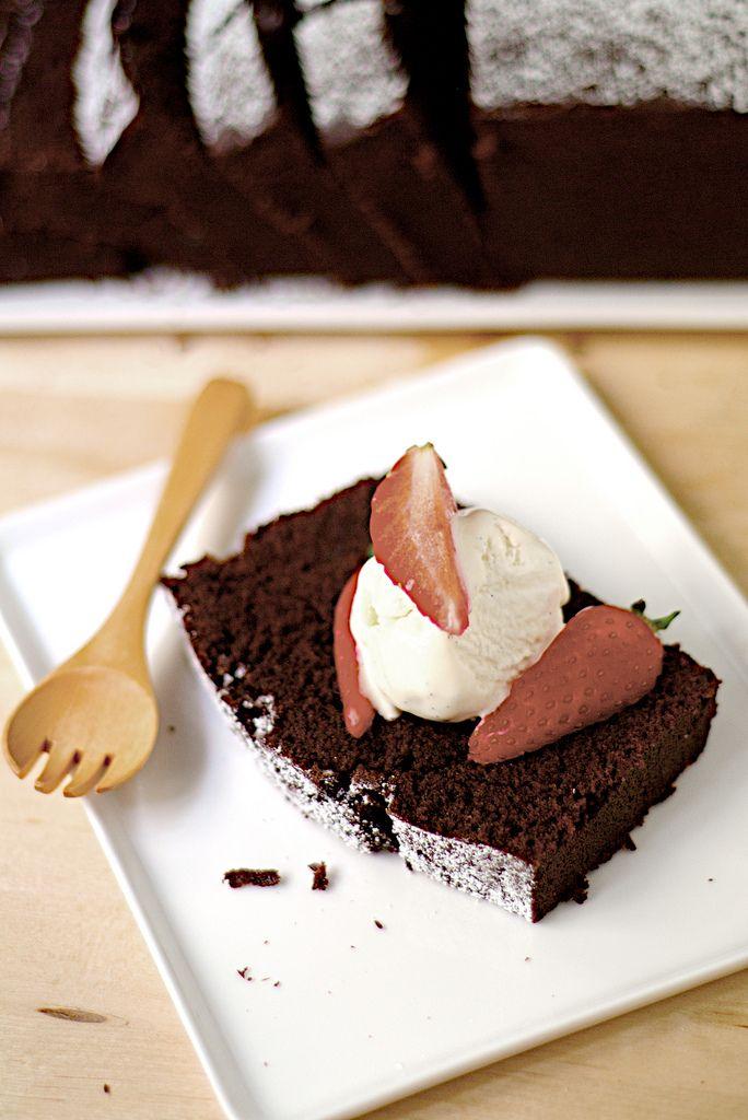 everyday chocolate cake...to eat everyday??? Yum!