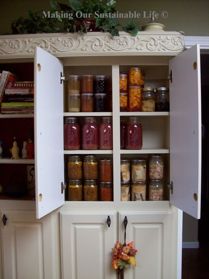 canning food pantry and storage ideas pinterest